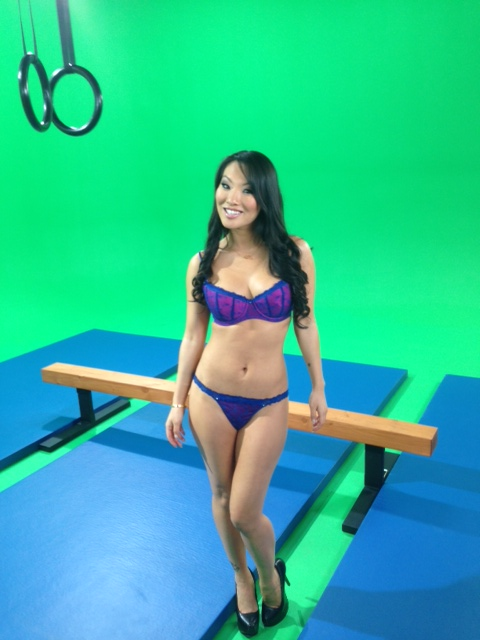asa akira in the first-ever hot movies commercial