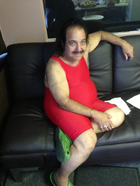 ron jeremy stars in the first-ever hot movies commercial