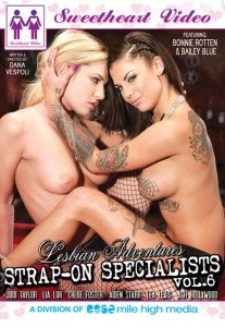 Lesbian Adventures Strap-On Specialists Vol 6