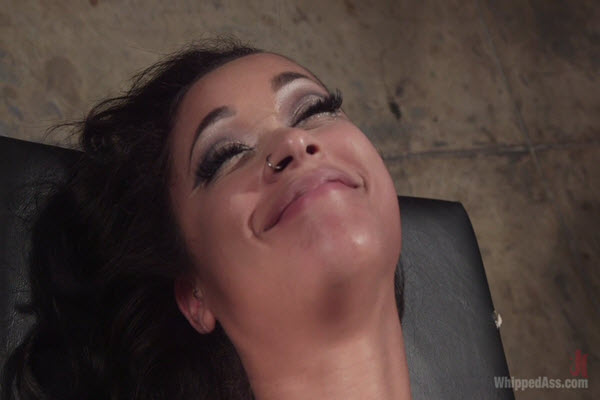 Skin Diamond smilling in Whipped Ass