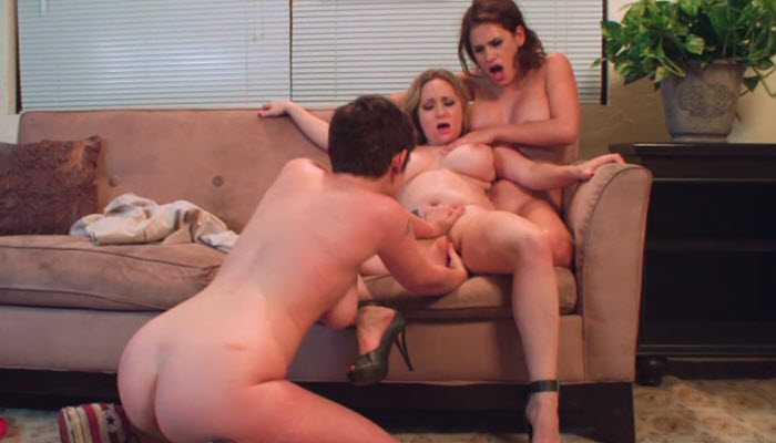 Lily Cade, Aiden Starr, Vanessa Veracruz in Between the Headlines